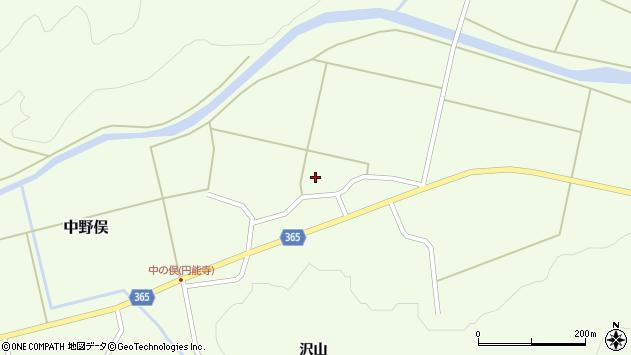 山形県酒田市中野俣村北41周辺の地図
