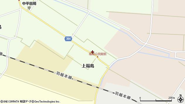 山形県酒田市熊手島上福島41周辺の地図