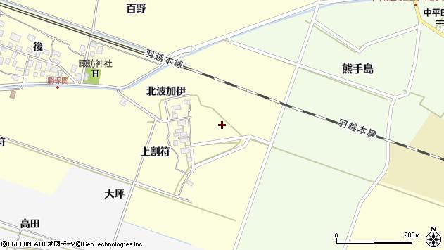 山形県酒田市勝保関北波加伊31周辺の地図