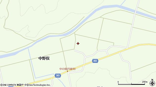 山形県酒田市中野俣村北224周辺の地図