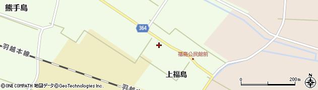 山形県酒田市熊手島上福島50周辺の地図