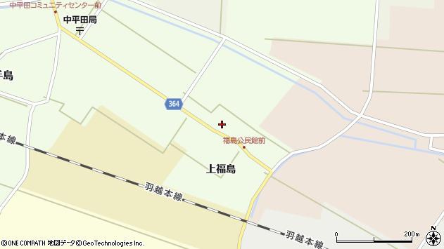 山形県酒田市熊手島上福島43周辺の地図