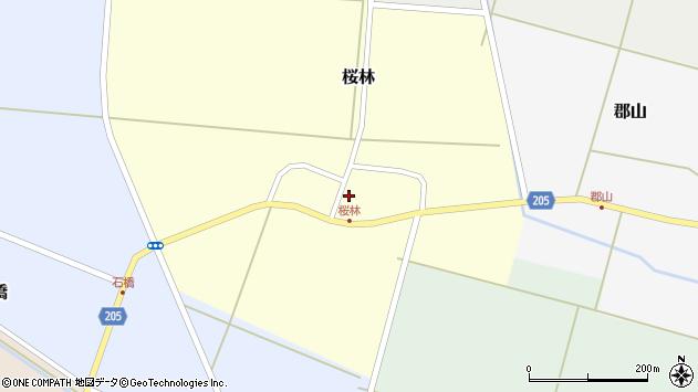 山形県酒田市桜林18周辺の地図