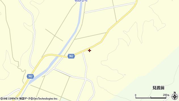 山形県酒田市北俣上中村4周辺の地図