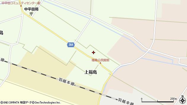 山形県酒田市熊手島上福島42周辺の地図