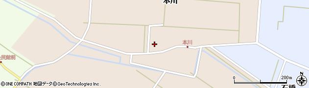山形県酒田市本川38周辺の地図