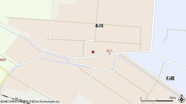 山形県酒田市本川39周辺の地図