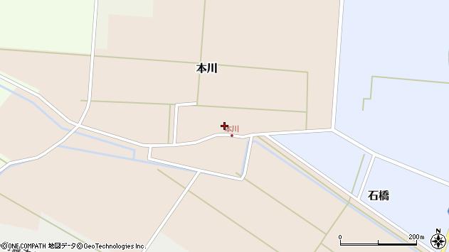 山形県酒田市本川42周辺の地図