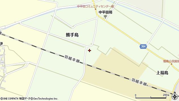 山形県酒田市熊手島熊興屋45周辺の地図