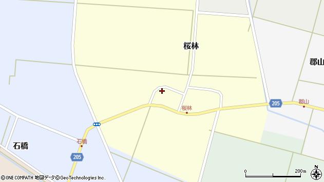 山形県酒田市桜林26周辺の地図