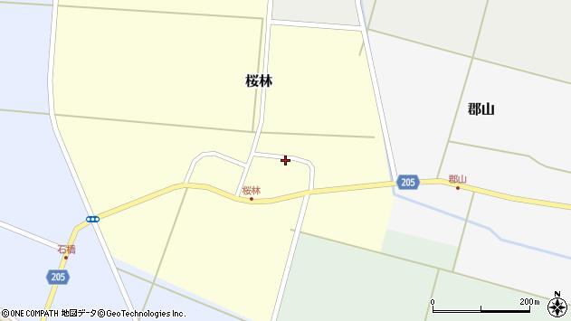 山形県酒田市桜林14周辺の地図