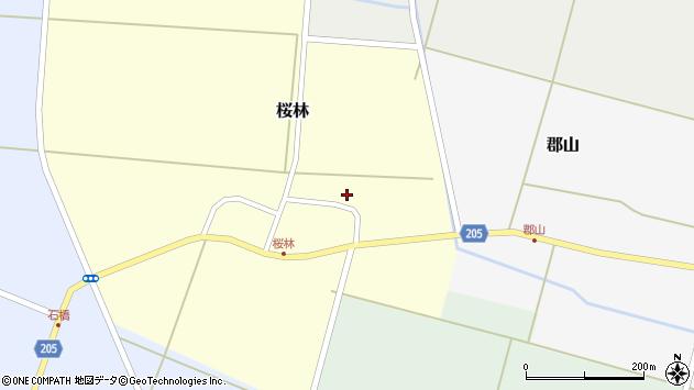 山形県酒田市桜林10周辺の地図