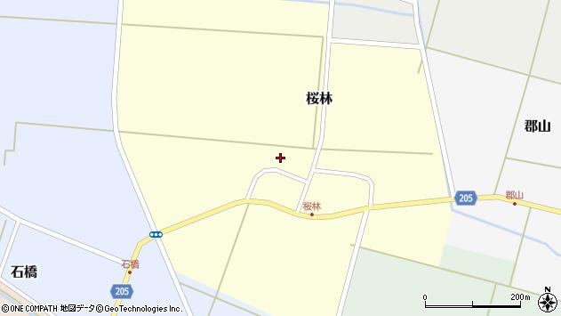 山形県酒田市桜林29周辺の地図