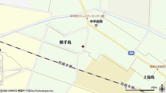 山形県酒田市熊手島熊興屋49周辺の地図