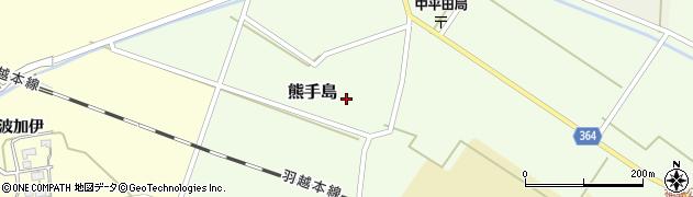 山形県酒田市熊手島熊興屋62周辺の地図