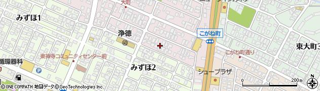 山形県酒田市大町18周辺の地図