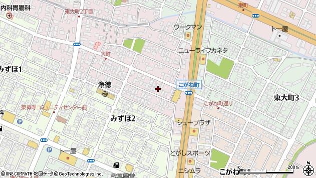 山形県酒田市大町17周辺の地図