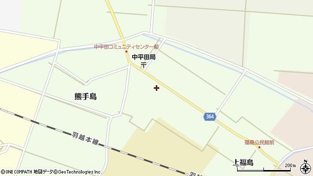 山形県酒田市熊手島手興屋239周辺の地図