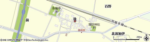 山形県酒田市勝保関後19周辺の地図