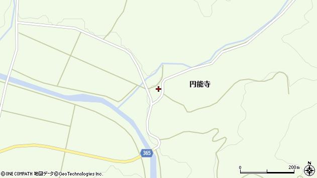 山形県酒田市中野俣円能寺44周辺の地図