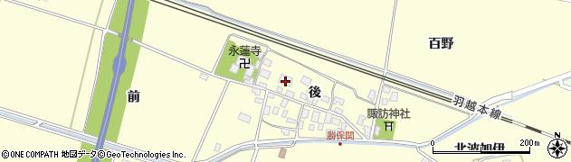山形県酒田市勝保関後25周辺の地図