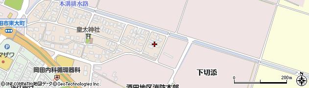 山形県酒田市四ツ興野6周辺の地図