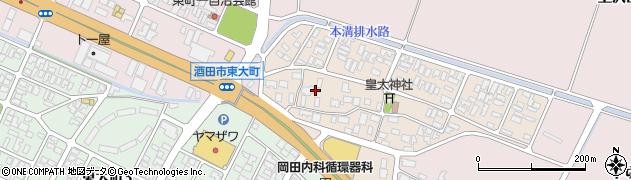 山形県酒田市四ツ興野72周辺の地図