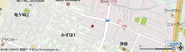 山形県酒田市大町13周辺の地図