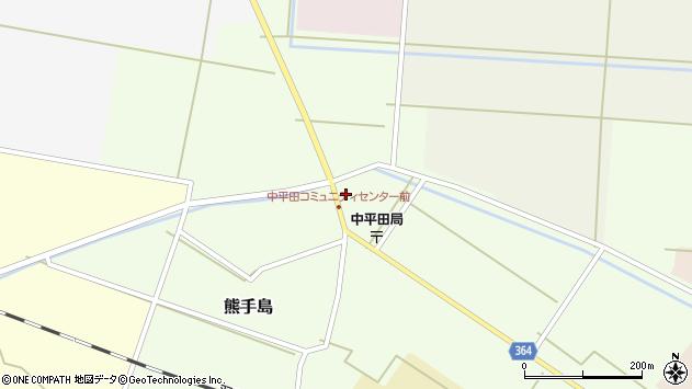 山形県酒田市熊手島中福島67周辺の地図