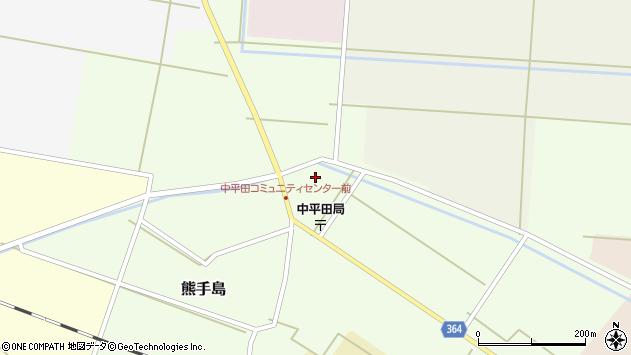 山形県酒田市熊手島中福島65周辺の地図