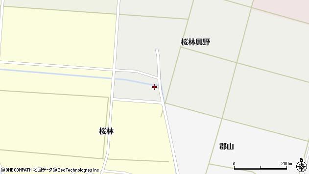 山形県酒田市桜林興野33周辺の地図