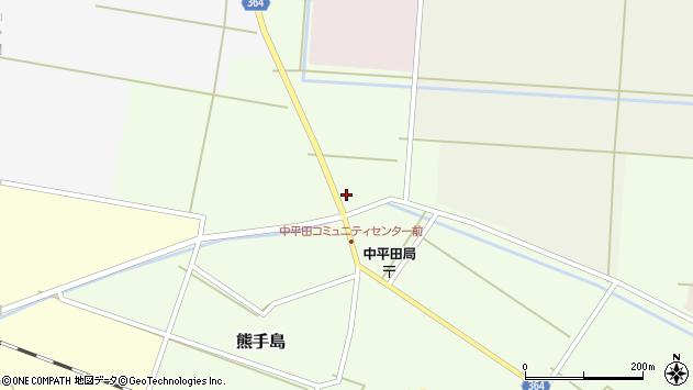 山形県酒田市熊手島道の上熊興屋24周辺の地図