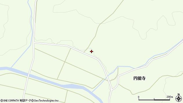 山形県酒田市中野俣谷地田前周辺の地図