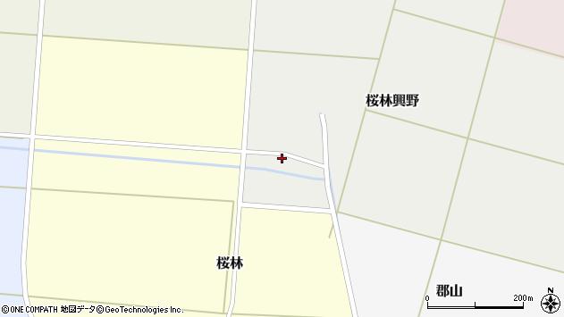 山形県酒田市桜林興野76周辺の地図