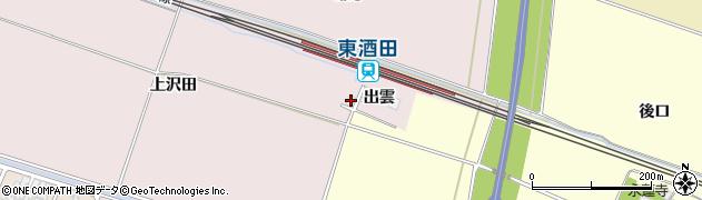山形県酒田市大町出雲29周辺の地図