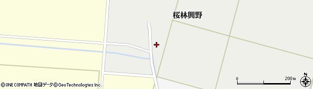 山形県酒田市桜林興野57周辺の地図