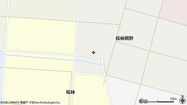 山形県酒田市桜林興野58周辺の地図