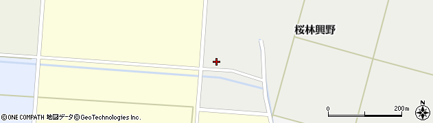 山形県酒田市桜林興野73周辺の地図