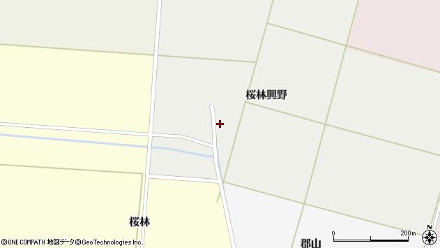 山形県酒田市桜林興野56周辺の地図