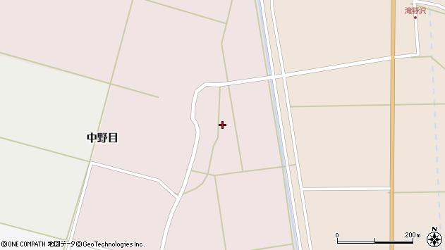 山形県酒田市中野目67周辺の地図