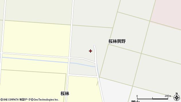 山形県酒田市桜林興野60周辺の地図
