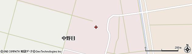 山形県酒田市中野目75周辺の地図