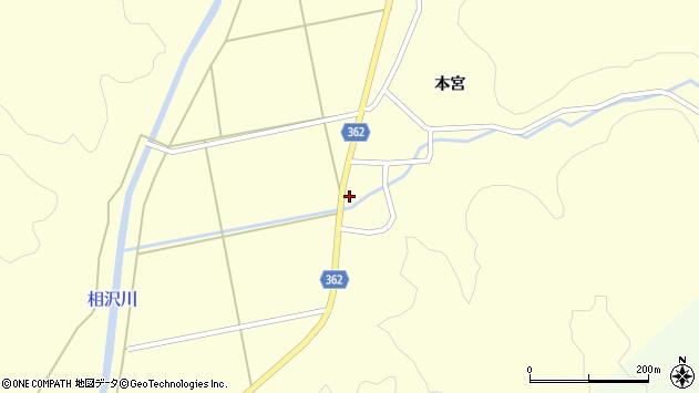 山形県酒田市北俣落シ下31周辺の地図