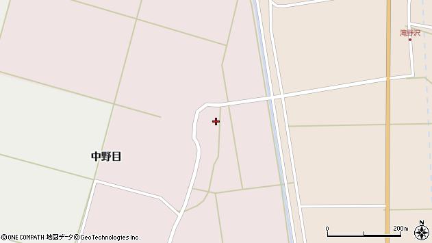 山形県酒田市中野目81周辺の地図