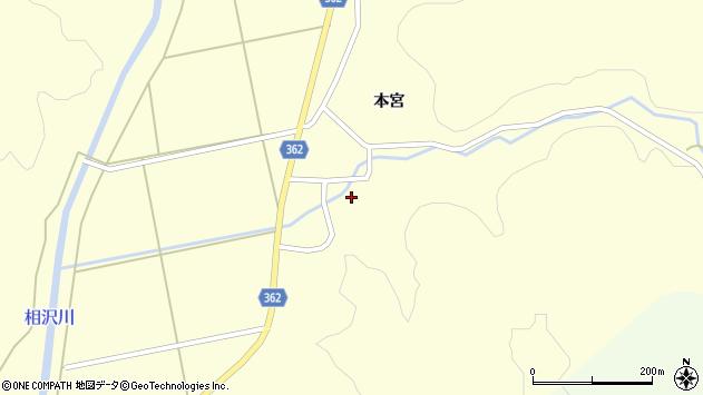 山形県酒田市北俣本宮67周辺の地図