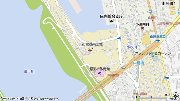 山形県酒田市入船町7周辺の地図