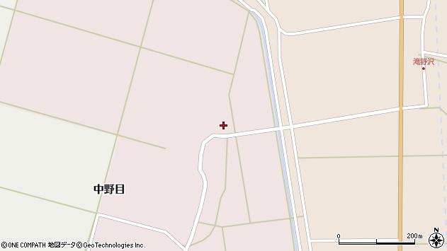 山形県酒田市中野目88周辺の地図