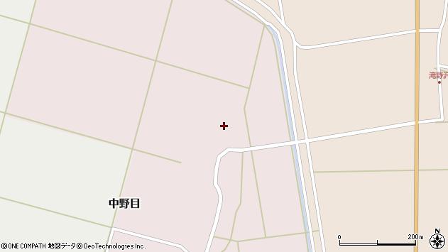 山形県酒田市中野目割前90周辺の地図