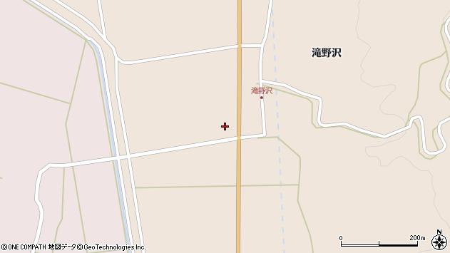 山形県酒田市生石滝野沢228周辺の地図