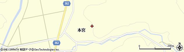 山形県酒田市北俣石鉢山9周辺の地図